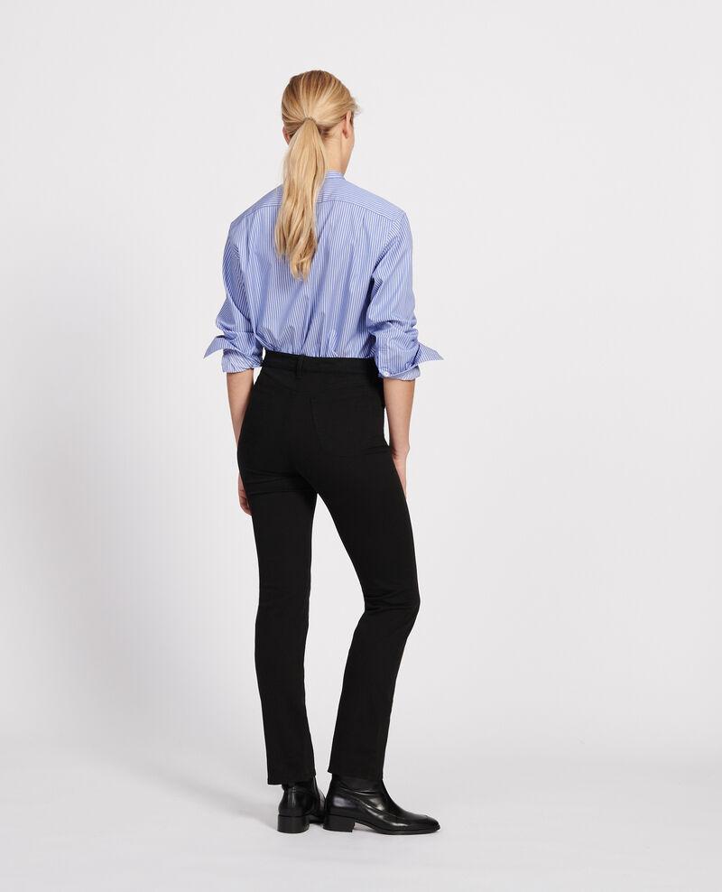 Straight-leg trousers Black beauty Lozanne