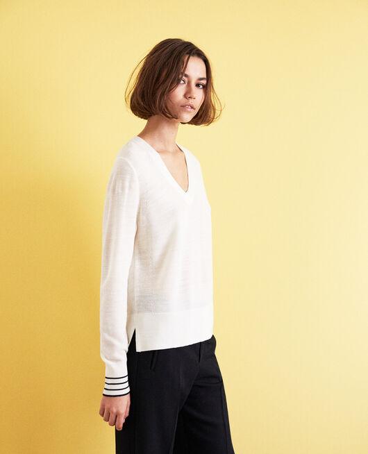 Wool jumper Blanc