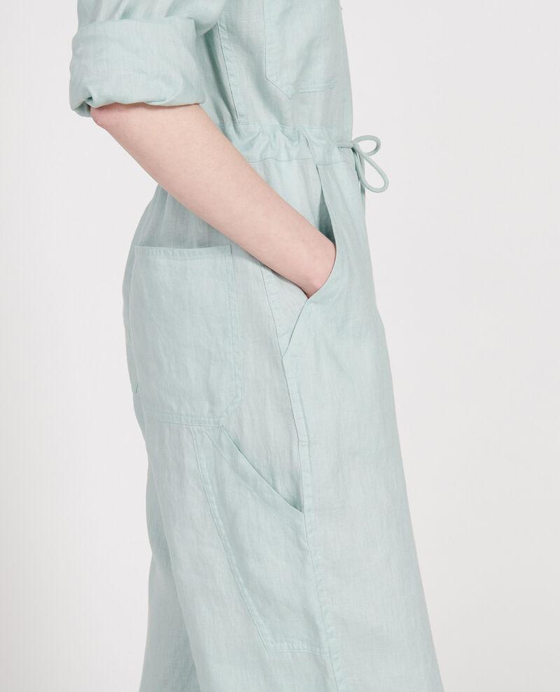 Linen jumpsuit Blue haze Lachassain