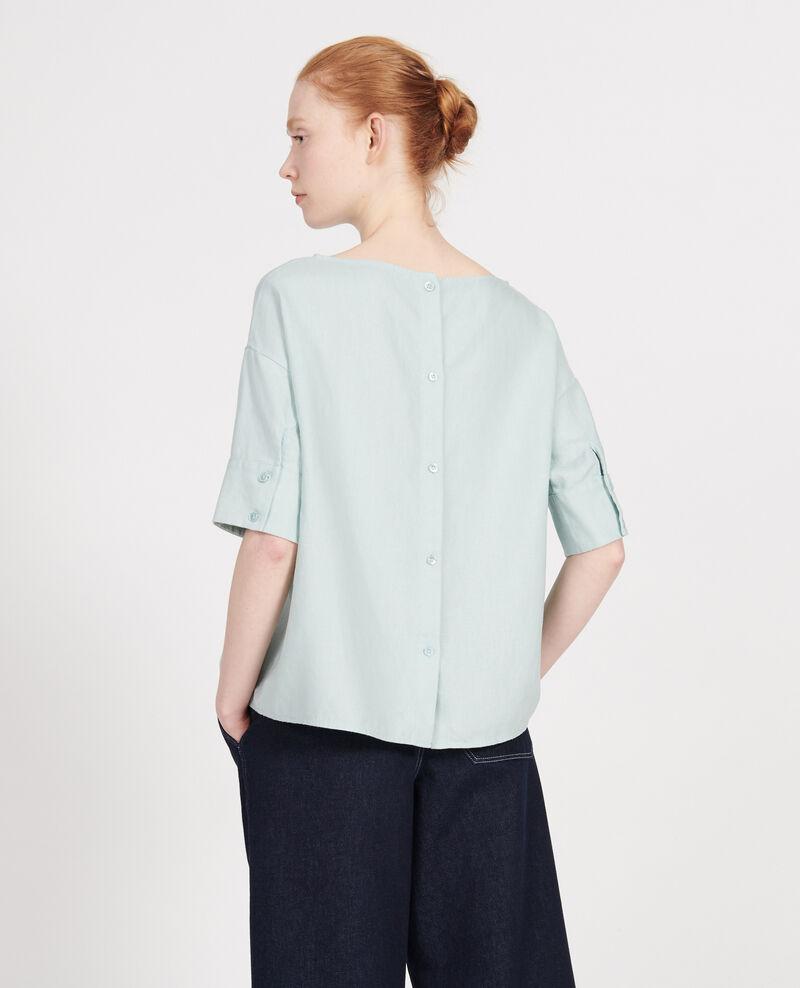 Linen blouse Blue haze Lordat