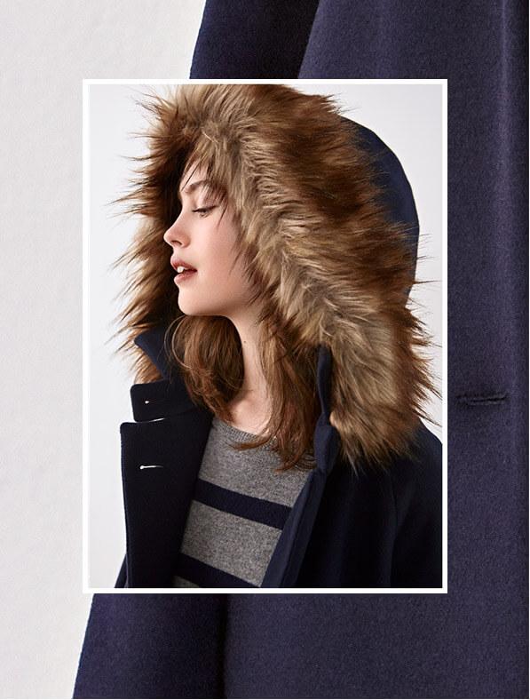 Look - Wool coat, Cashmere jumper