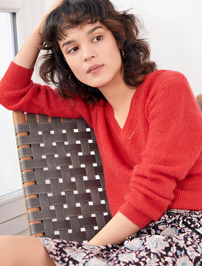 Look femme - pull en laine