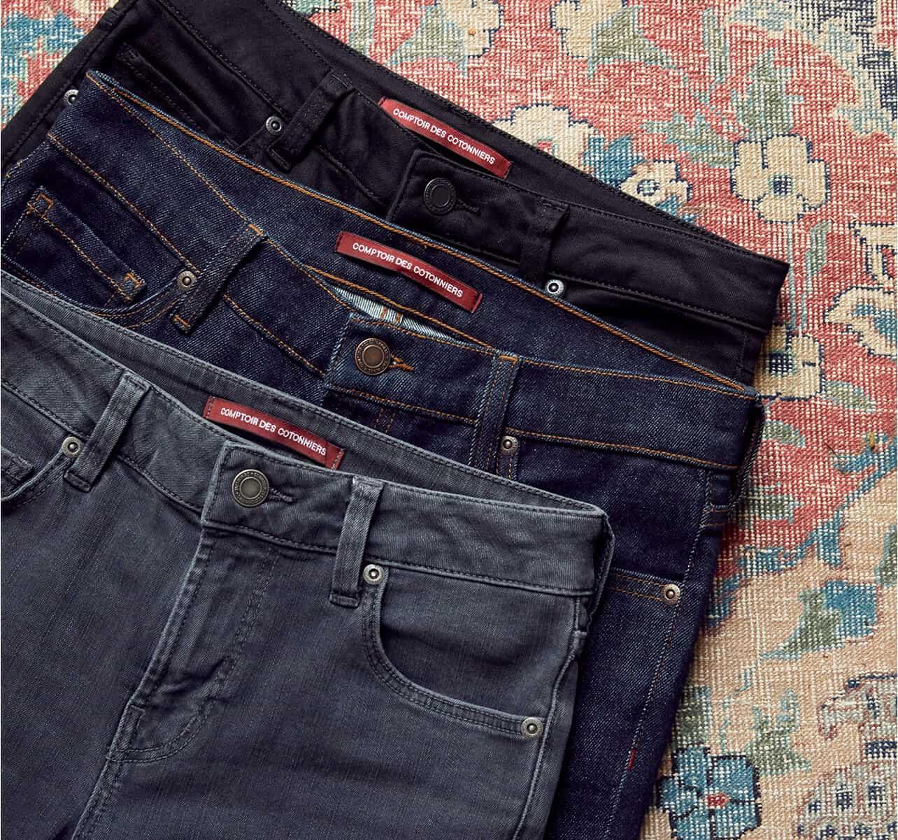 Jeans femme Comptoir des Cotonniers