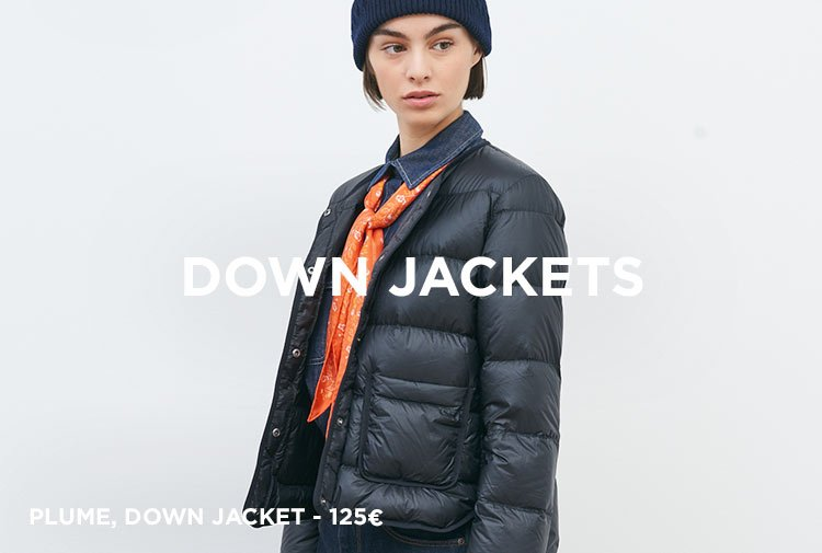 Down jackets - Mobile