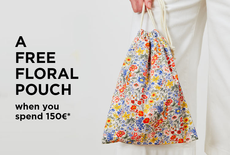Free floral pouch - Mobile