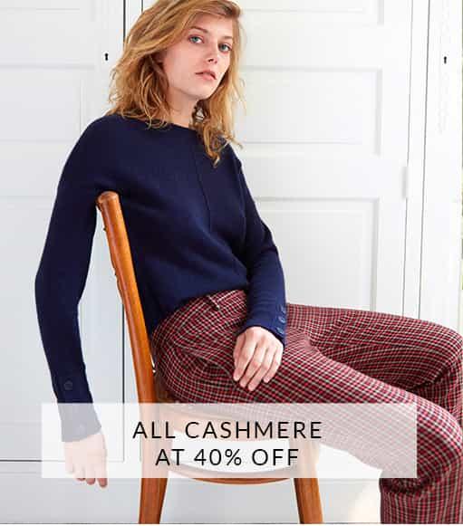Cashmere 40% off