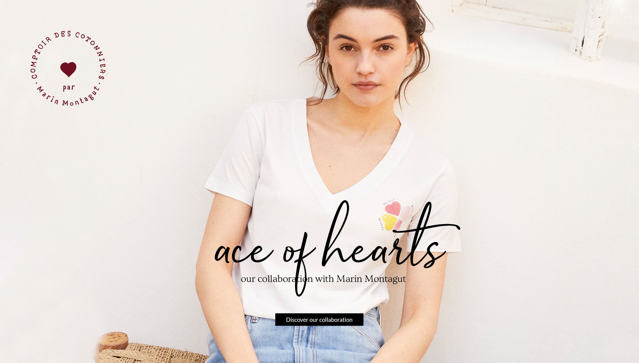 Ace of hearts - Marin Montagut collaboration