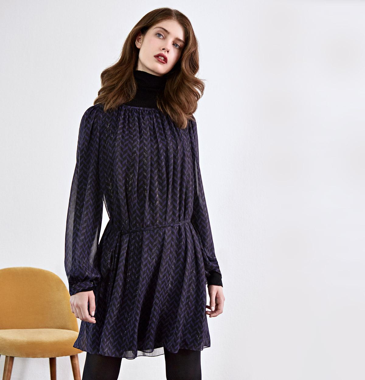 Look - Lightweight dress, Merinojumper