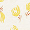 Linen boatneck t-shirt  Tulip buttercream Jafleural