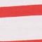 Egyptian cotton t-shirt Stripes optical white fiery red Lisou
