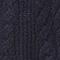 Cable-knit jumper Dark navy Jop