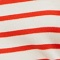 MADDY - Striped merino wool jumper Stp grdn spicy Liselle