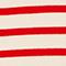 Striped wool jumper Stripes fiery red gardenia Liselle