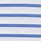 Cotton t-shirt Stripes optical white amparo blue Lana