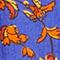 Linen mini dress Indie-big-blue Nassandria