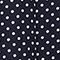 100% silk skirt Dots maritime blue Lonna