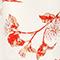 Viscose crêpe maxi dress Herbier gardenia ketchup Lavish