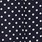 100% silk skirt Dots maritime blue Lonna