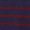 100% Striped cashmere jumper Evening/cabernet Jolimer