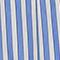 Cotton skirt Stripes light grey persian jewel Louverot