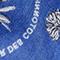 Printed cotton bandana Royal blue Noronille