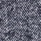 Herringbone mini skirt Black Gwinog