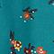 Mandarin collar blouse Bouquet mediteranea Jiplui