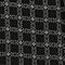 Printed silk top Check black Pabus