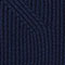 Jumper with inserts on the hem 100% Merino Wool Navy Janet