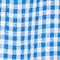 Linen blouse Vichy princess blue gardenia Lostange