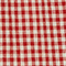 Linen blouse Vichy ketchup buttercream Lostange