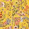 Silk diamond scarf Spectra yellow Nage
