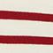 Striped wool jumper Str_jetstream_ry_red Liselle