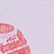 Short-sleeve cotton t-shirt Pastel lilac Mia